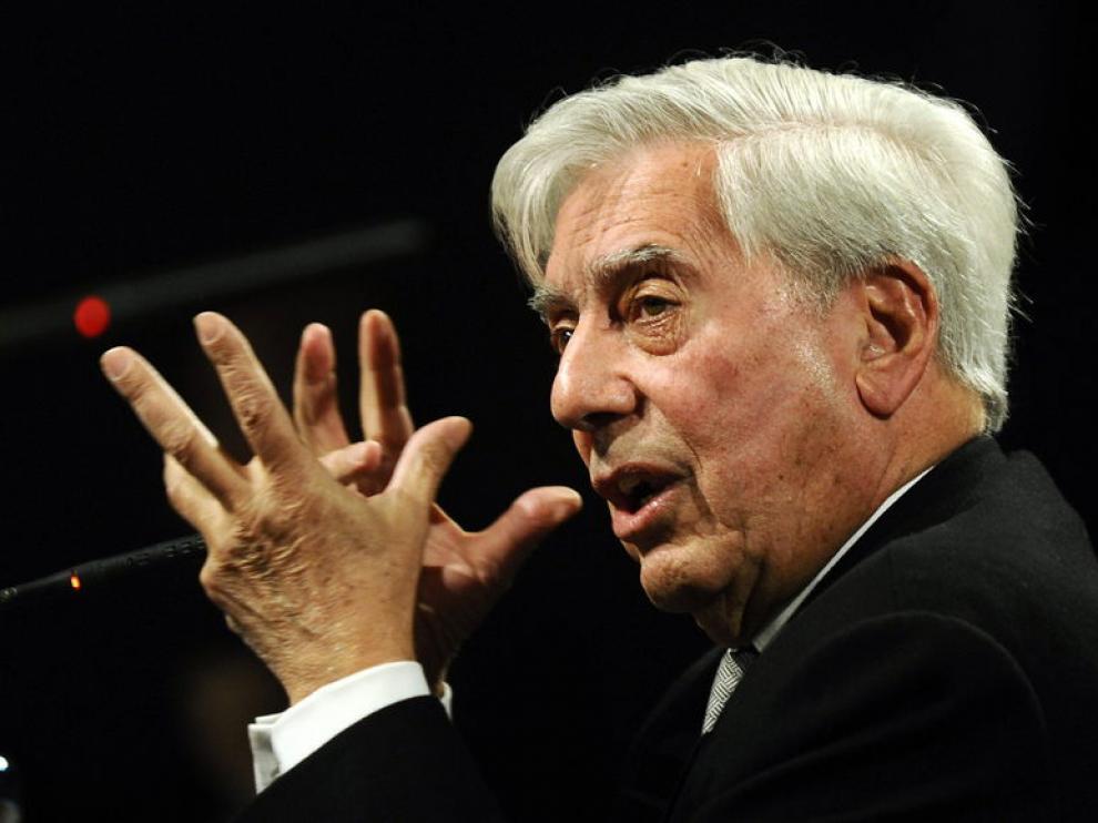 Vargas Llosa, en Madrid