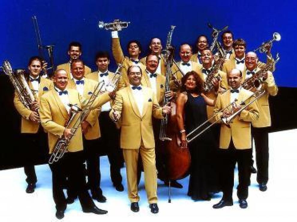 La Glenn Miller Orchestra llenará de música la sala Mozart.
