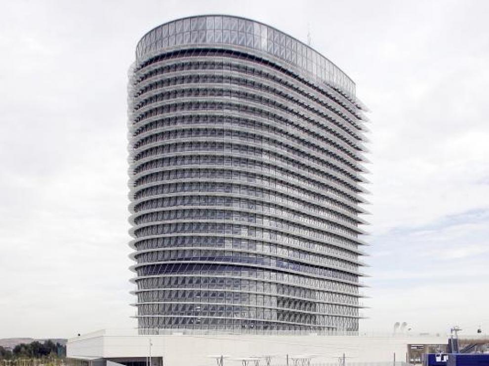 La reforma de la Torre del Agua consistirá en añadir una planta-mirador