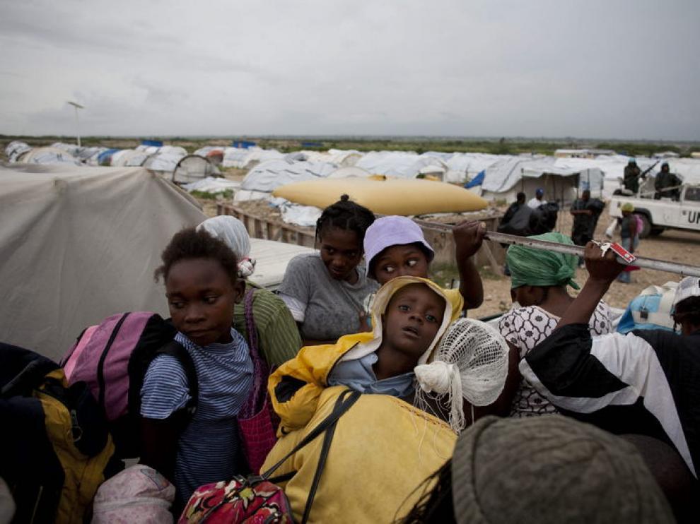 Evacuaciones en Haití