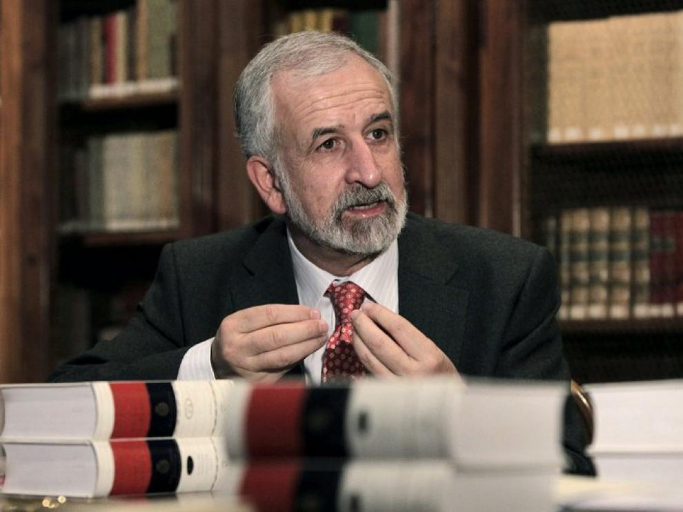 Salvador Gutiérrez, director de la nueva 'Ortografía de la lengua española'