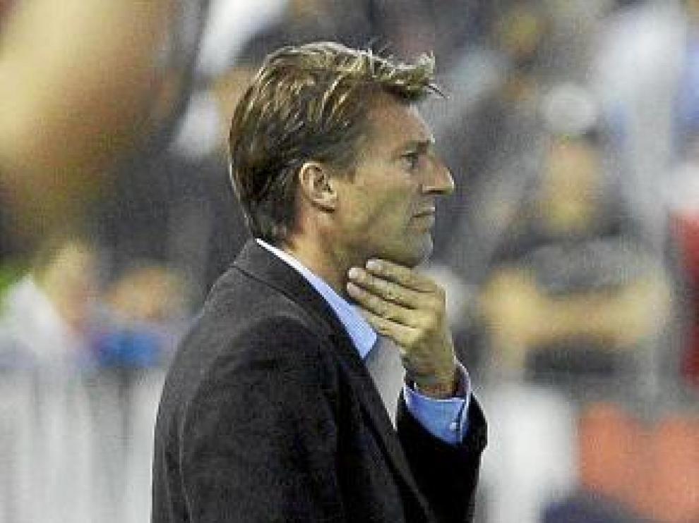Michael Laudrup, entrenador del Mallorca.