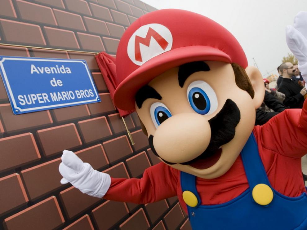 Mario inauguró la calle que lleva su nombre