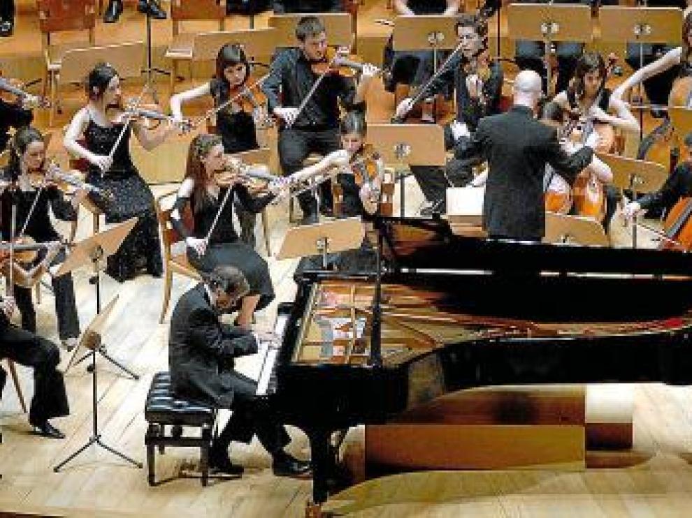 Imagen de archivo de la Orquesta Sinfónica del Conservatorio.