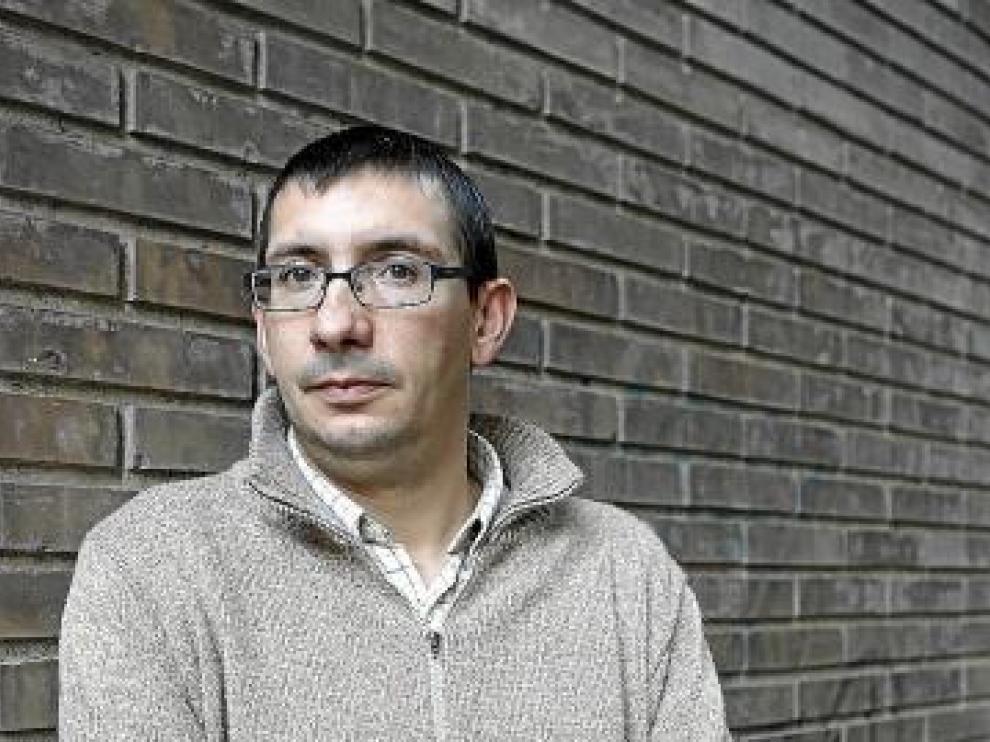 José Antonio Coloma, en paro desde marzo de 2010.