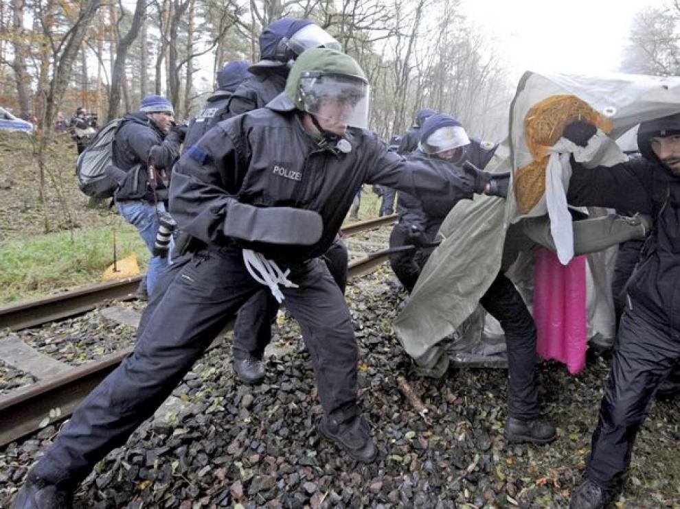 Imagenes de los enfrentamientos