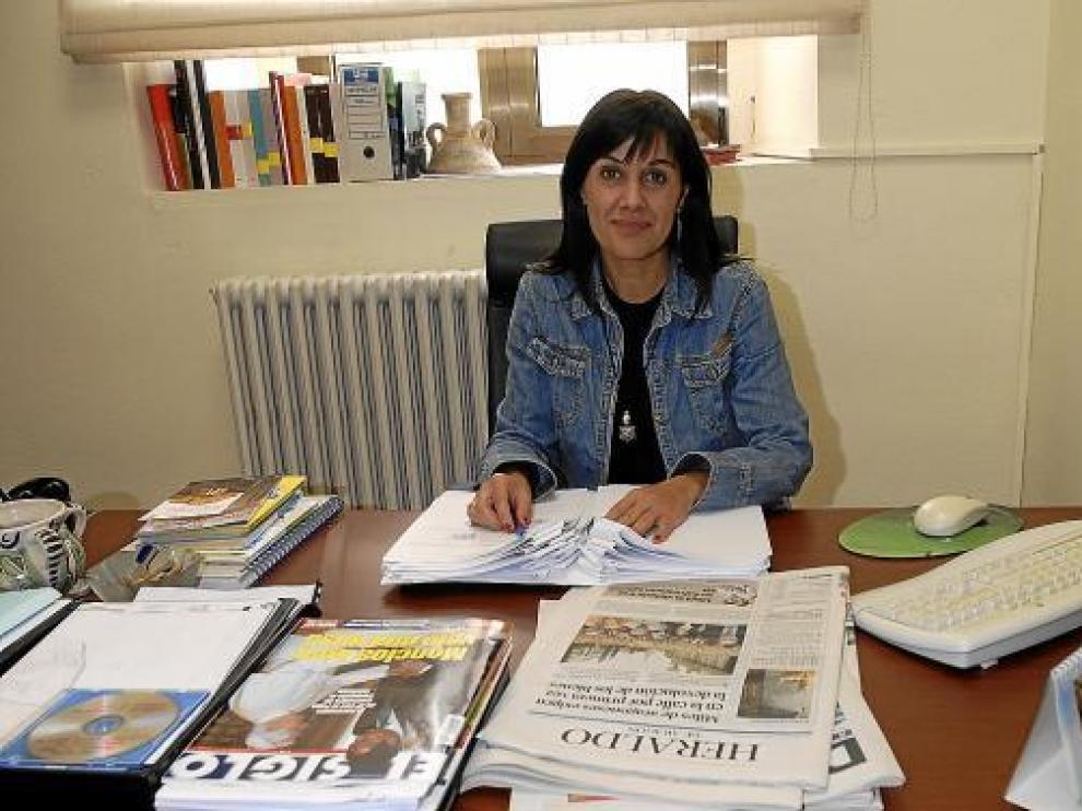 La alcaldesa accidental, Lucía Gómez