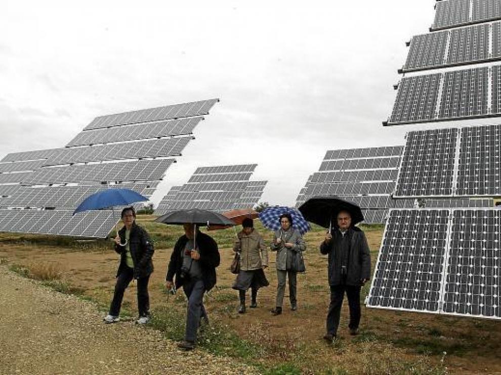 Instalación de energía fotovoltaica en Aragón