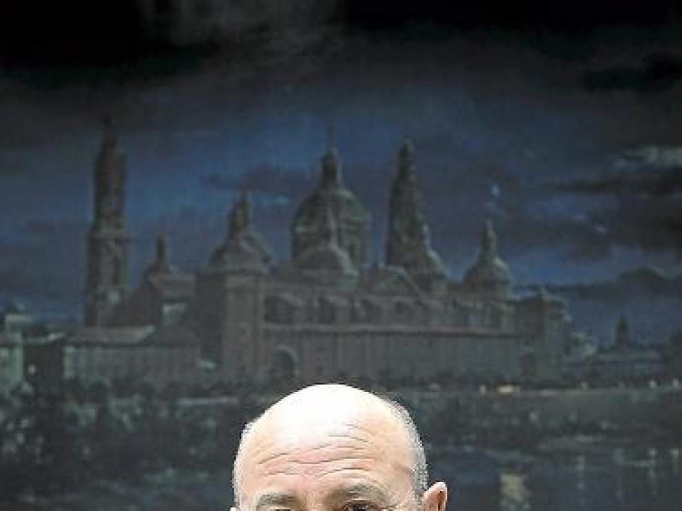 Manuel Ureña, en la sede del Arzobispado.