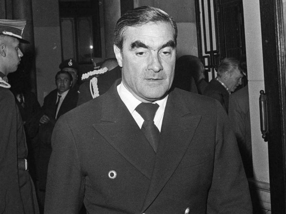 El ex almirante Emilio Eduardo Massera tenía 84 años