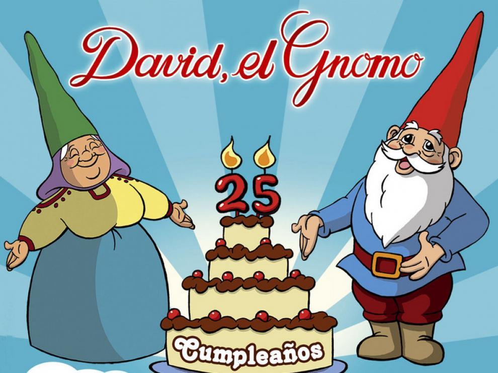 Cartel del musical sobre 'David el Gnomo'