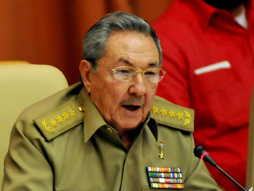 Raul Castro, presidente de Cuba.