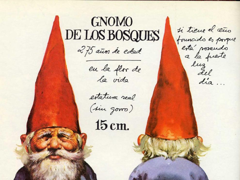Libro 'Los gnomos' editado por Montena