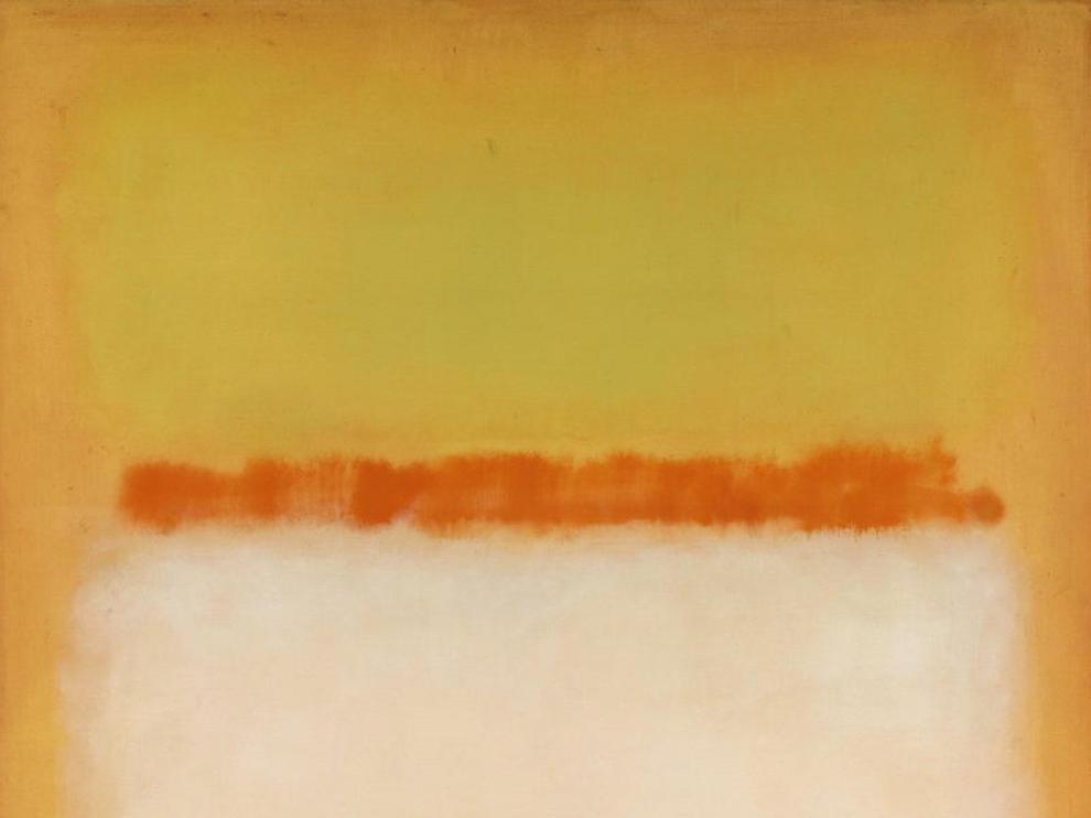 'Sin título' de 1955, la obra de Mark Rothko vendida por casi 30 millones de dólares