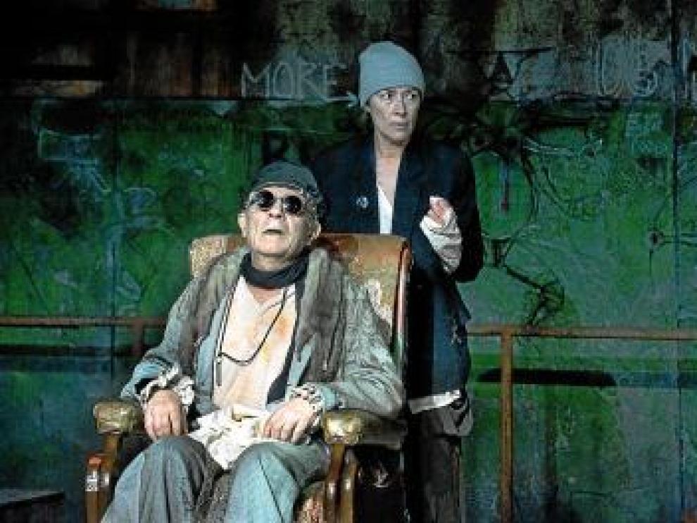 José Luis Gómez y Susi Sáez, en 'Fin de partida'.