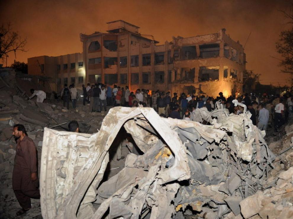 Lugar donde ocurrió el atentado