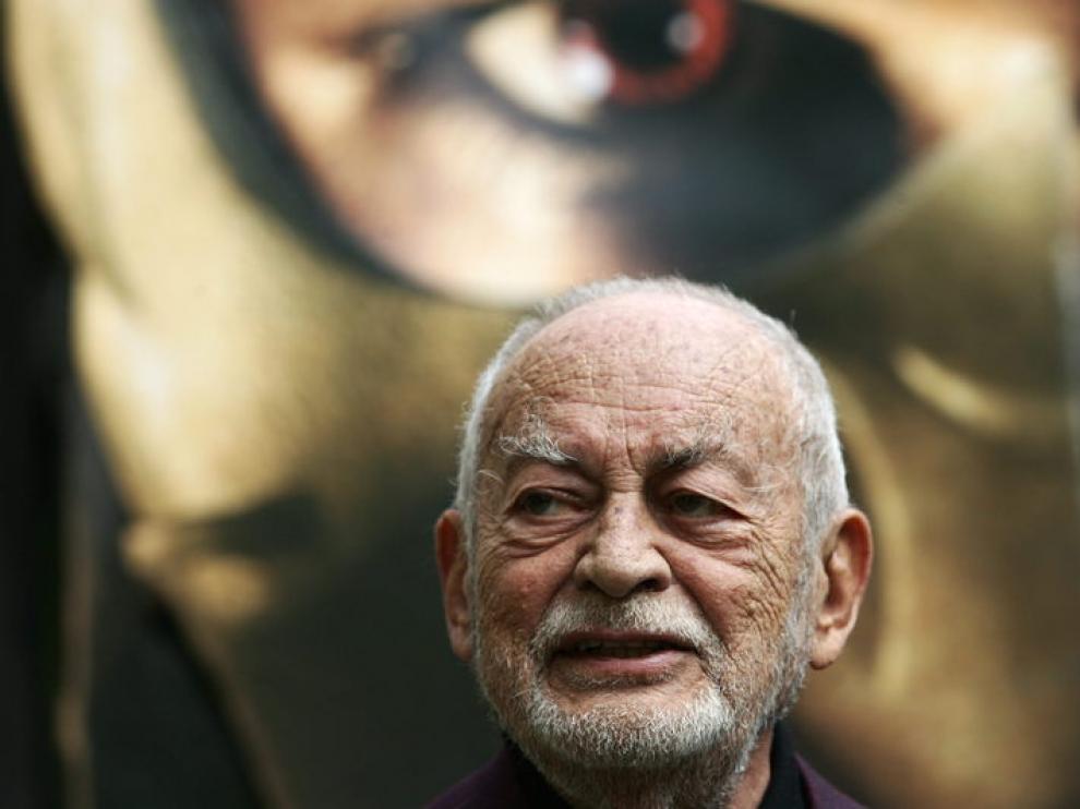 Dino de Laurentiis, en 2007 durante la presentación de 'Hannibal Rising'