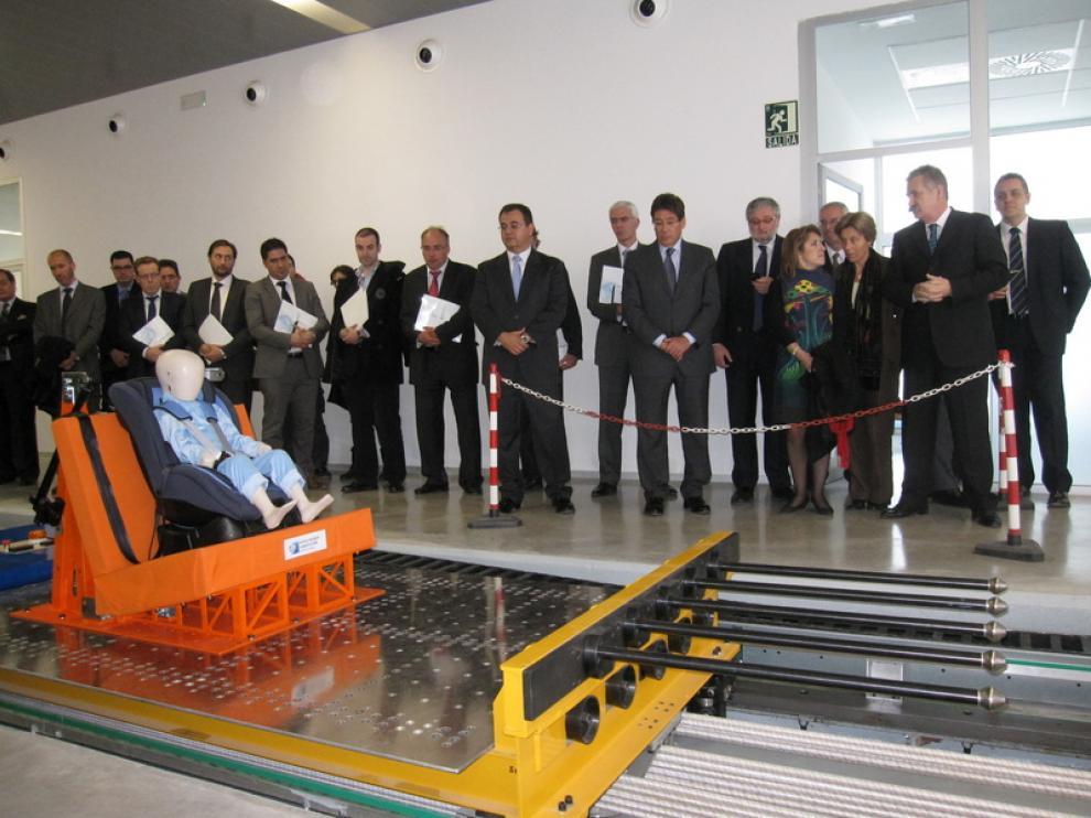 Inauguración del de las nuevas instalaciones del Parque Tecnológico.