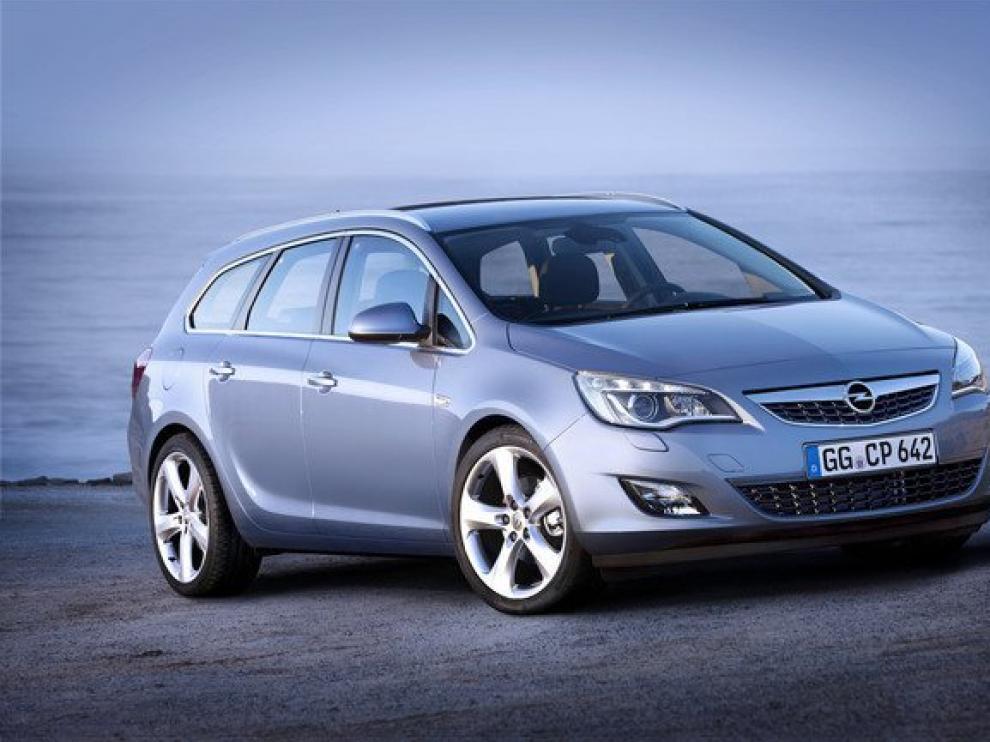 El modelo Opel Astra Sport Tourer