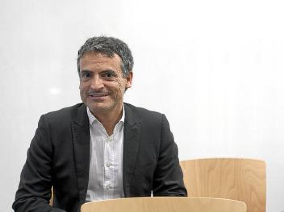Antonio Gratacós, ayer, en Zaragoza.
