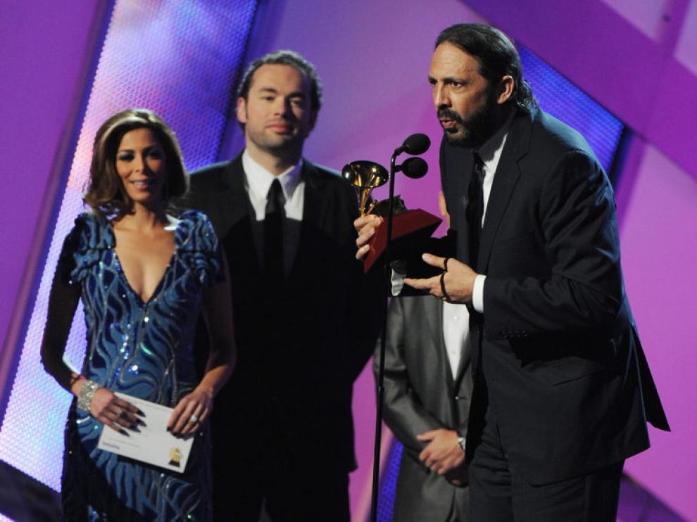 El músico dominicano Juan Luis Guerra, triunfador de los Grammy
