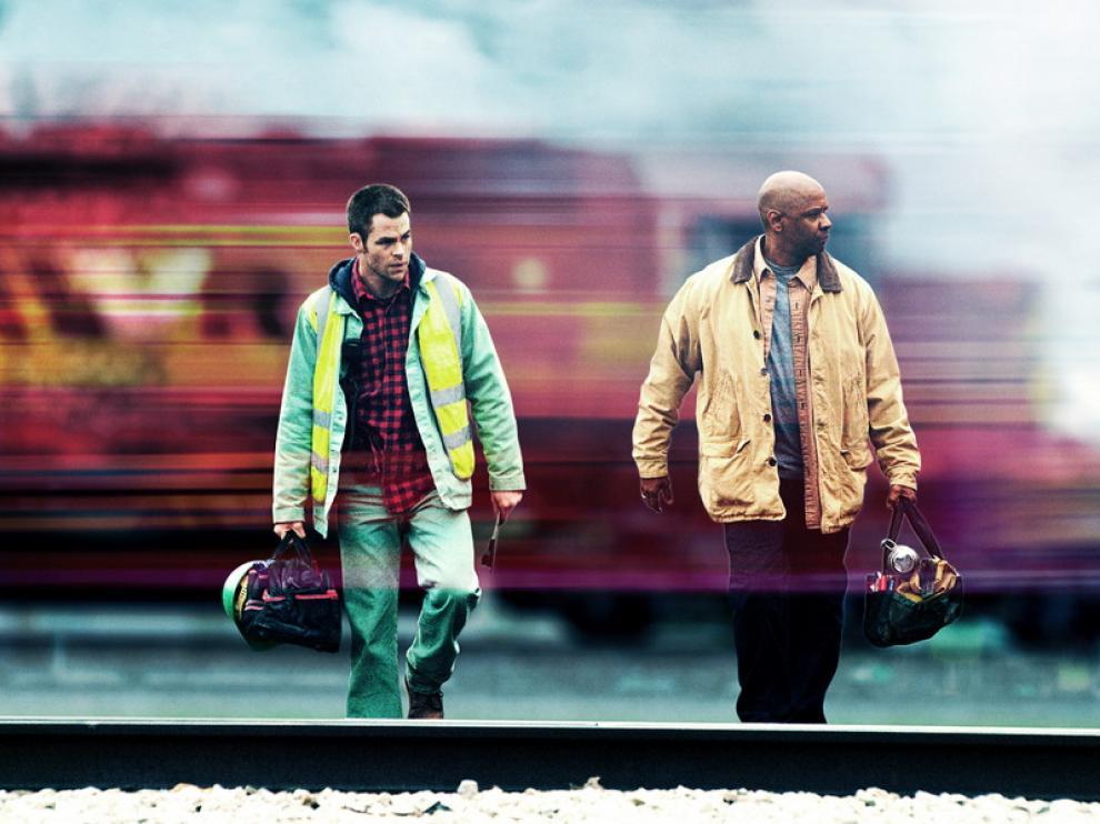Chris Pine y Denzel Washington