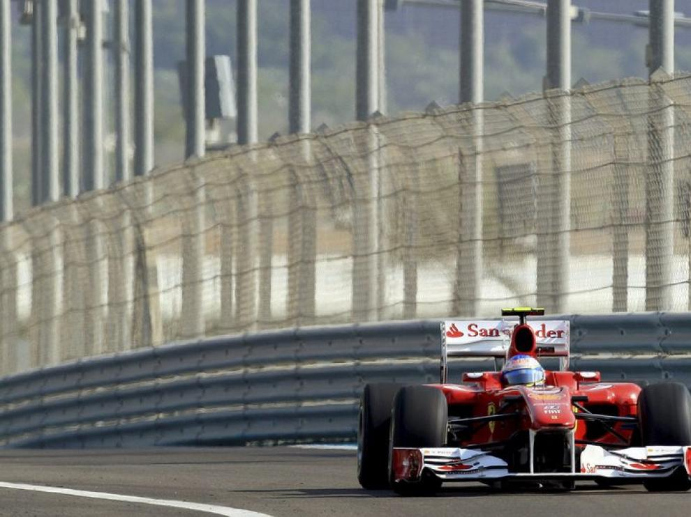 Vettel el mas rápido en la segunda eliminatoria, Alonso sexto
