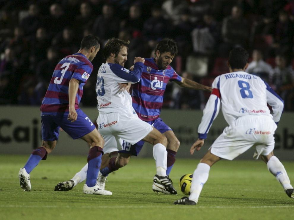 El Huesca no se encontró con el gol