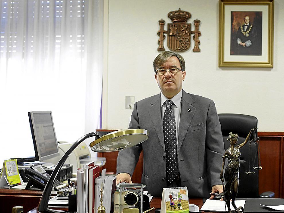 Ángel Dolado, juez decano de Zaragoza