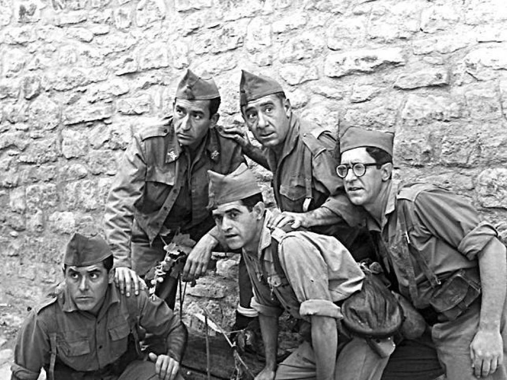 Cuando Berlanga rodó en Aragón