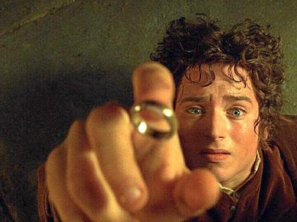El actor Elijah Jordan Wood, en su papel de Frodo en 'El señor de los anillos'.