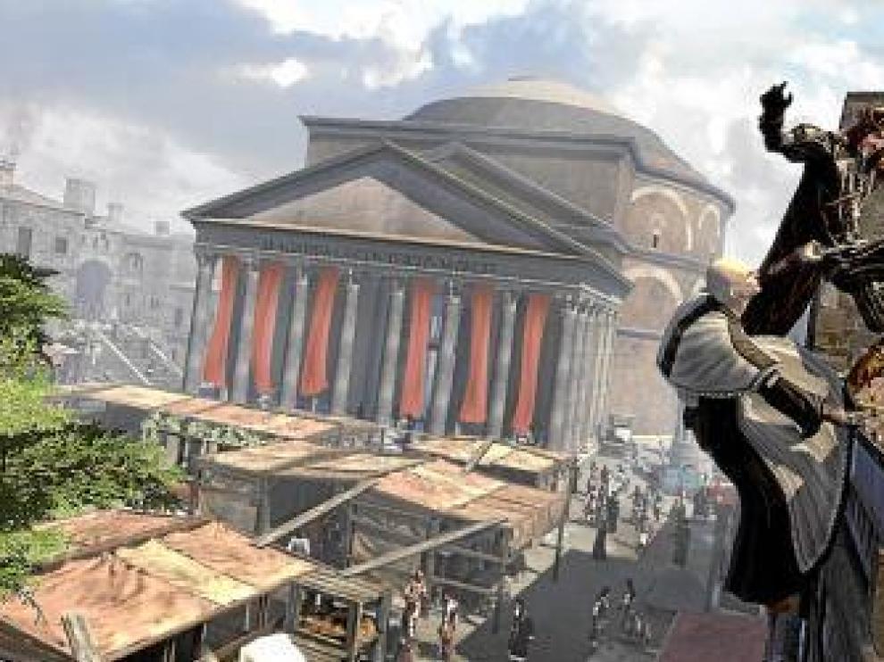 Imagen de 'Assasin's Creed. La hermandad'.