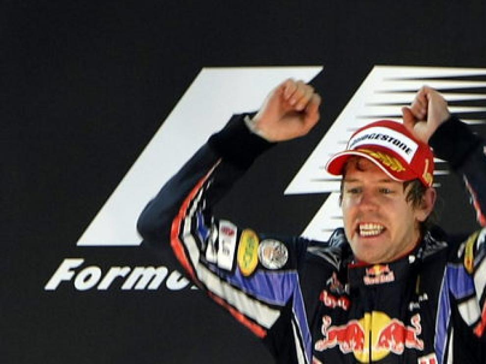 Vettel, nuevo campeón del mundo de Fórmula Uno