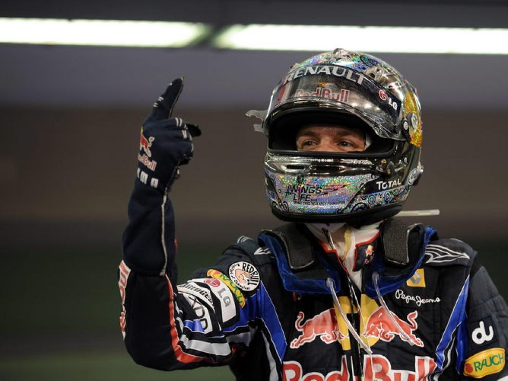 Vettel venció en Abu Dabi