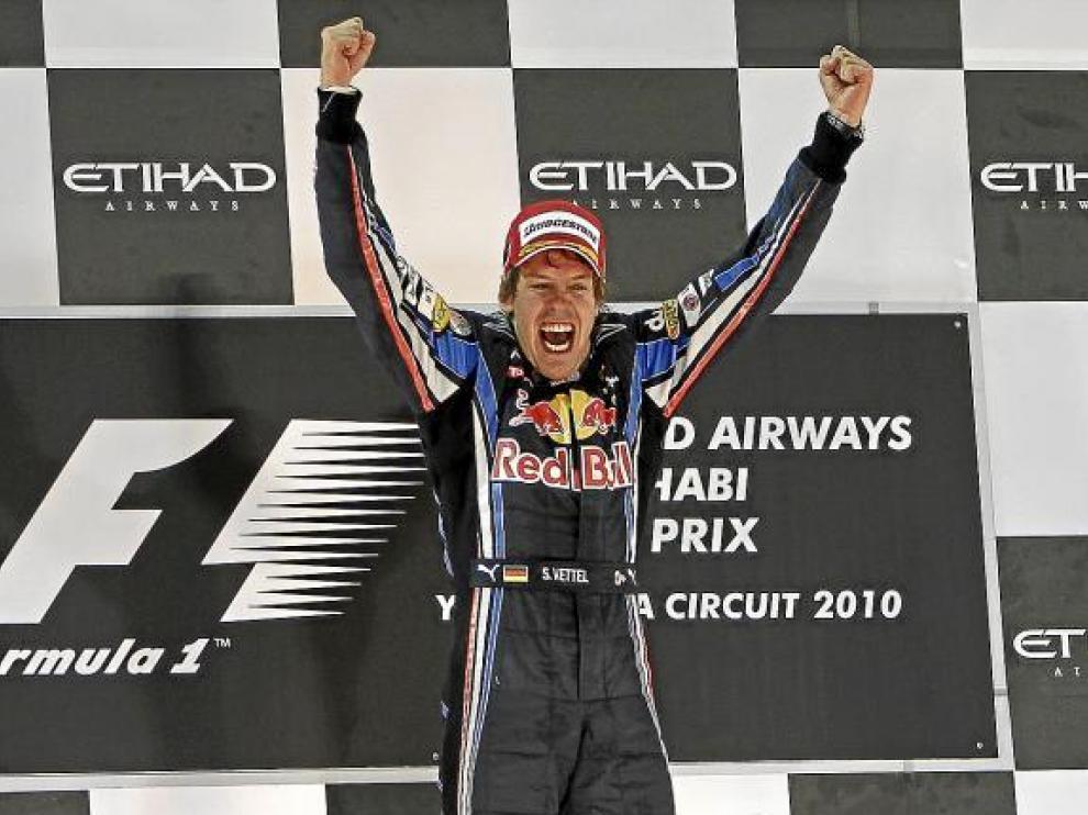 El alemán Sebastian Vettel se convirtió ayer en el campeón del Mundial más joven de la historia.