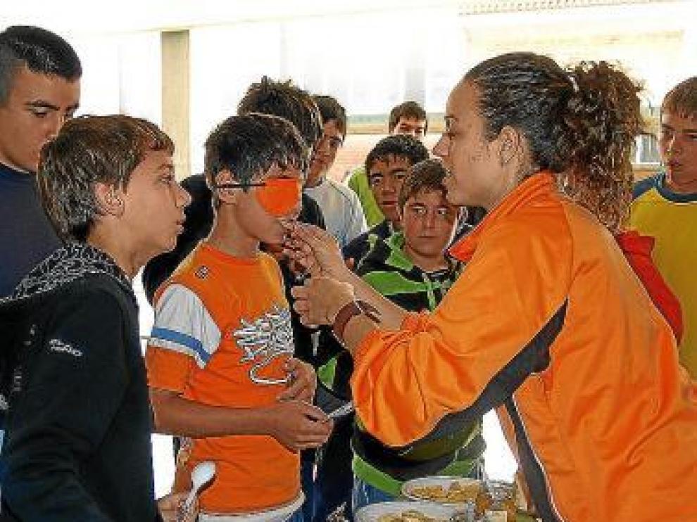 Una de las actividades de una edición anterior del programa juvenil.