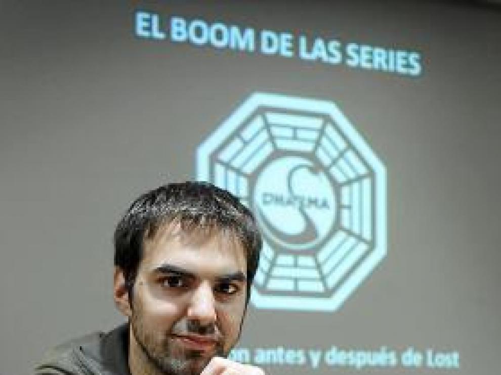 Toni de la Torre, ayer, en Zaragoza.