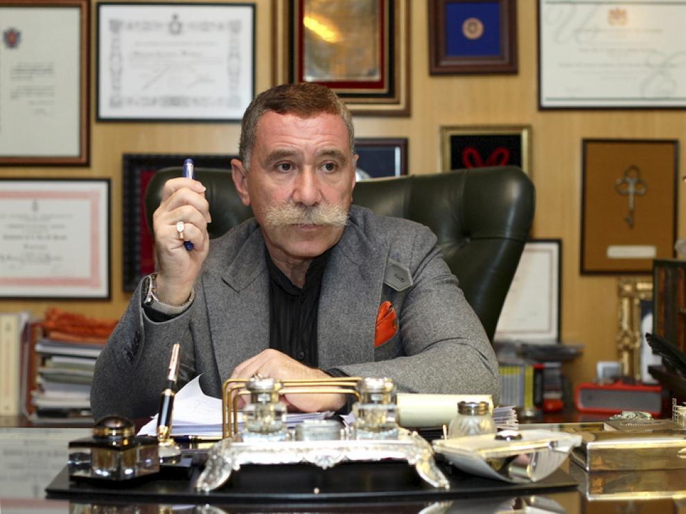 El abogado Marcos García Montes