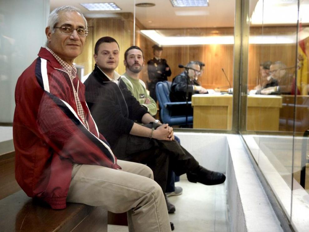 Israel Clemente López (c), Jorge García Vidal (d) y Juan García Martín