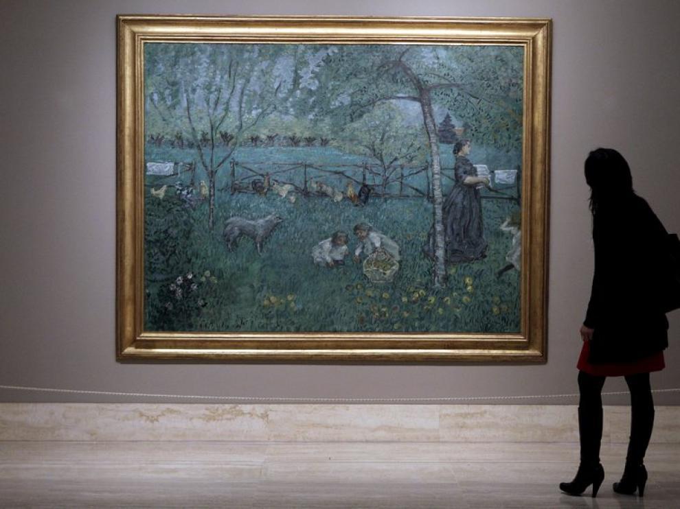 'El gran jardín', pintura de Pierre Bonnard