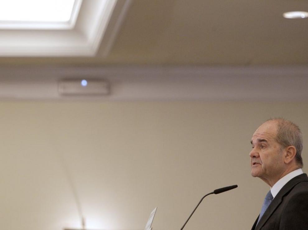 El vicepresidente tercero del Gobierno, Manuel Chaves
