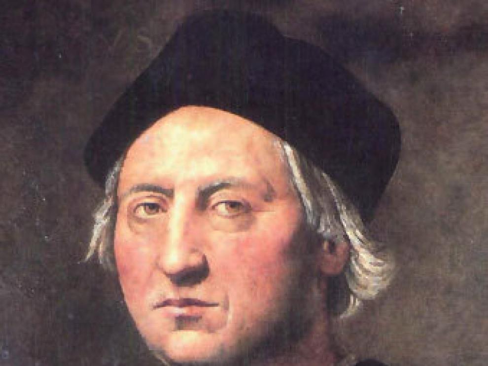 Rostro de Colón. Cuadro del marino pintado en Génova