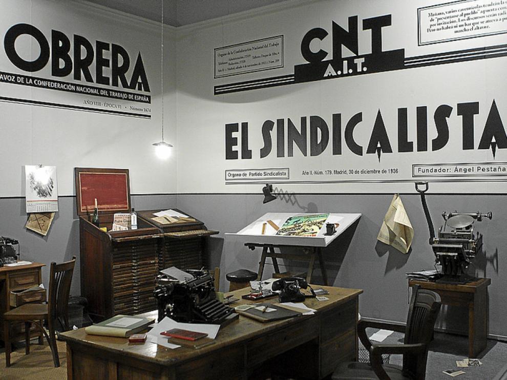 La prensa y las artes gráficas fueron instrumentos capitales de la CNT.
