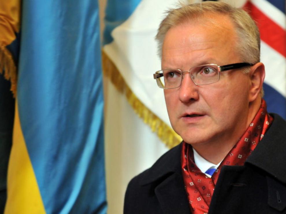 El comisario de Asuntos Económicos, Olli Rehn.