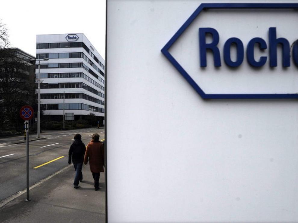 Sede del laboratorio farmacéutico suizo Roche