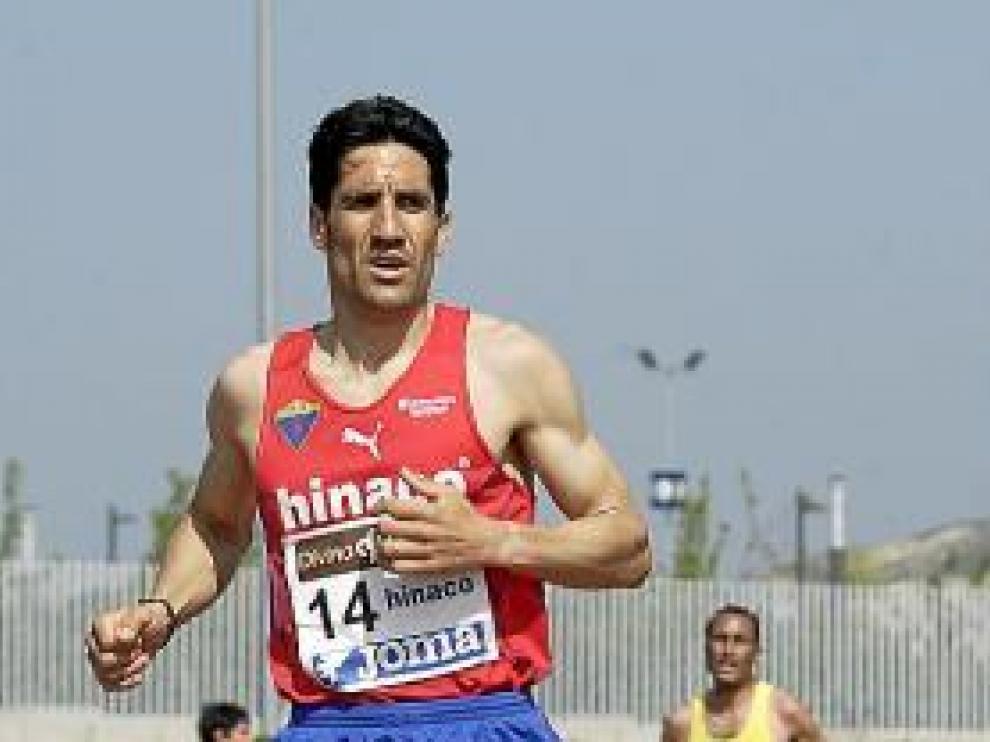 El atleta montisonense Eliseo Martín.