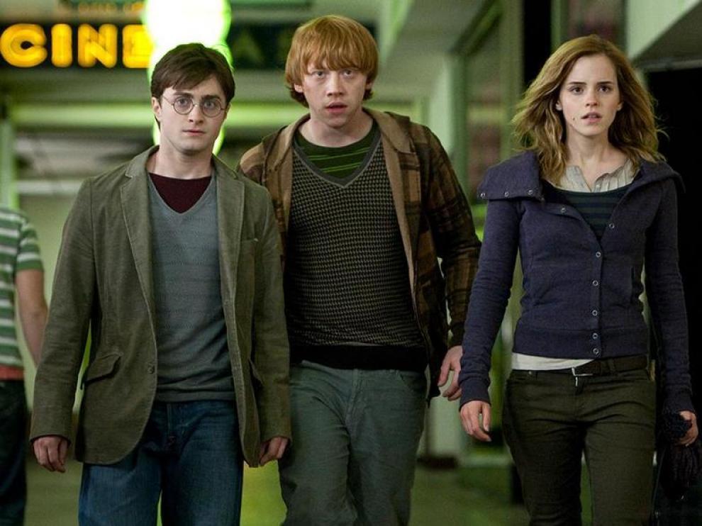 Fotograma de 'Harry Potter y las reliquias de la muerte'.