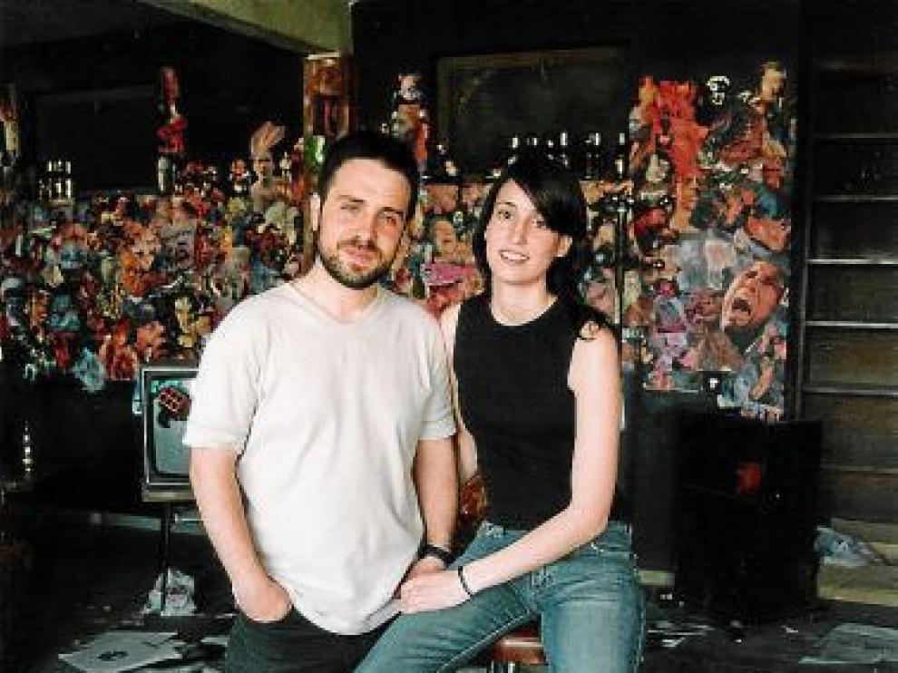 Germán Roda y Paula Pomarón, autores de 'Pomarón al cubo'.