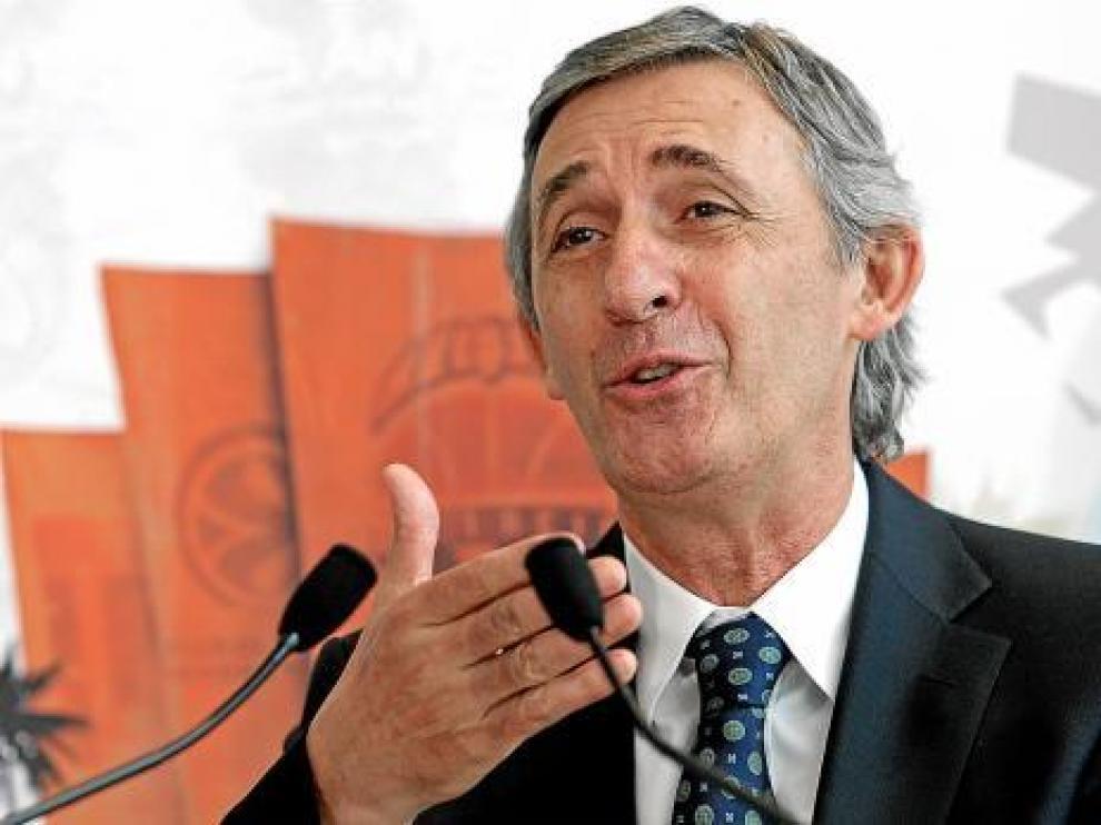 Pesic durante su presentación ayer en Valencia.