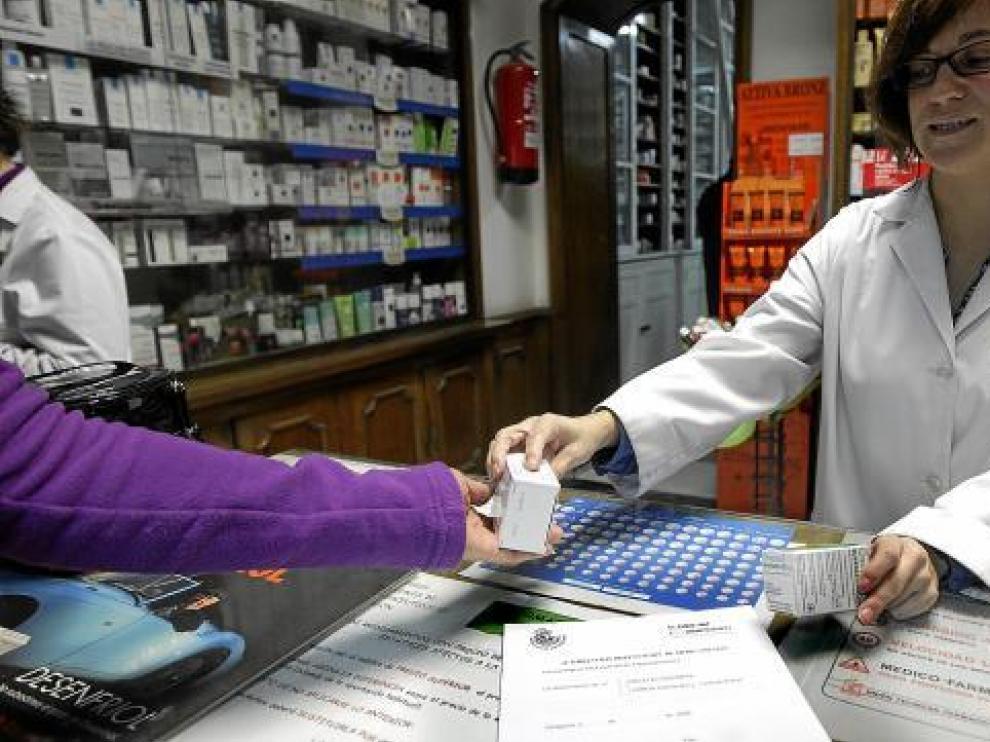 Con la hoja de autorización se entregan los medicamentos en todas las farmacias de Zaragoza.